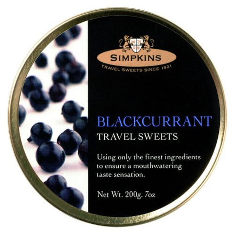 Travel Sweets Blackcurrent