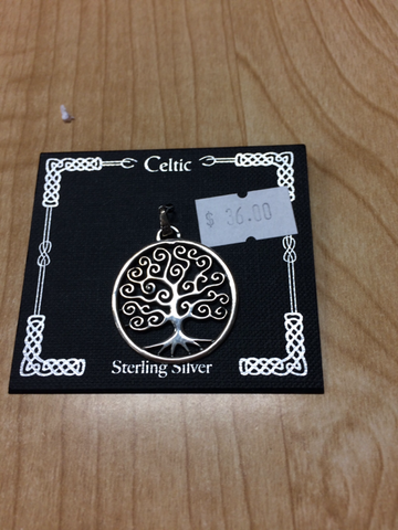 Celtic Tree Pendant