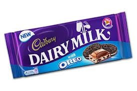 Cadbury's Dairy Milk with Oreo 120g
