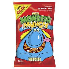 Monster Munch Flamin' Hot. Out of stock