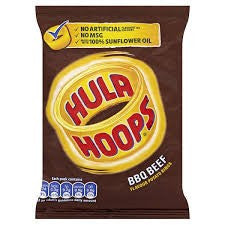 Hula Hoops BBQ.  Out of stock