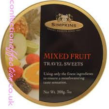 Travel Sweets Mixed Fruit
