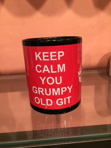 Keep Calm you Grumpy Old Git Mug