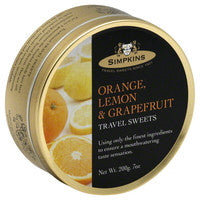 Travel Sweets Orange Lemon and Grapefruit