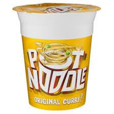 Pot Noddles Curry