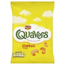 Walker's Quavers. Out of stock