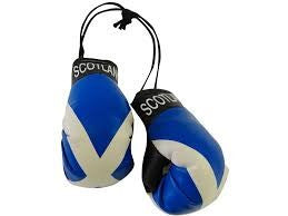 Scotland Boxing Gloves