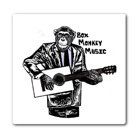 Box Monkey Vinyl Sticker - Box Monkey Music