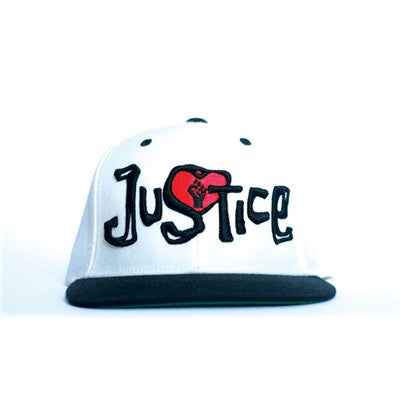 Justice Hat - White/Black