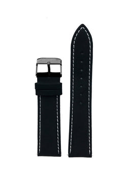 Interchangeable Leather Strap - Black