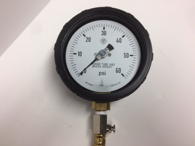 AIR GAUGE 4'' FACE 60PSI MAX YOP.AG400.060