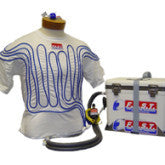 F.A.S.T. COTTON SHIRT w/TUBING, LARGE FAS.FA.210W.BL