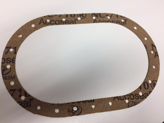 CORK FUEL CELL GASKET, 6'' X 10'' OVAL ATL.TF217