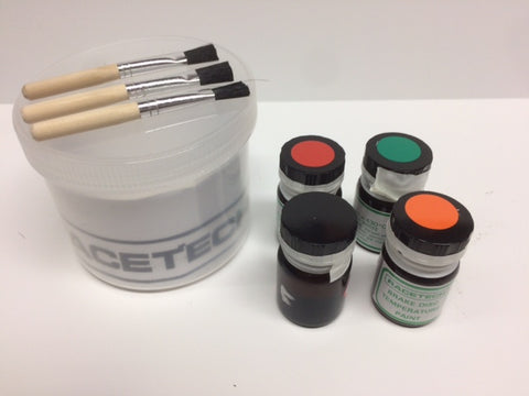 83.200.6 ROTOR TEMP PAINT KIT-3 COLOR TEE.83.200.6