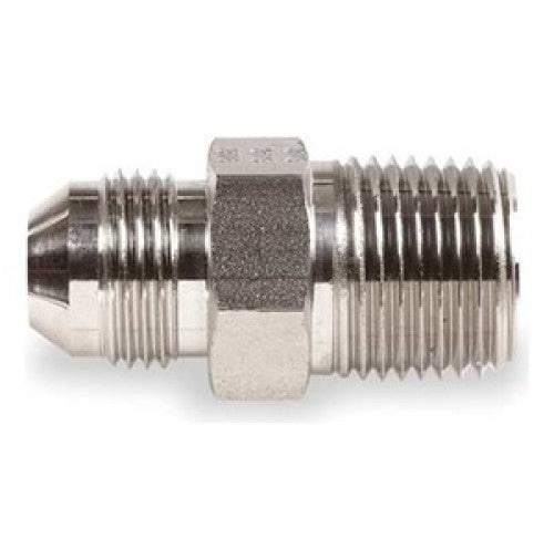 ADAPTER, STRAIGHT, -4 MALE TO 1/4 NPT GOO.816.04.04