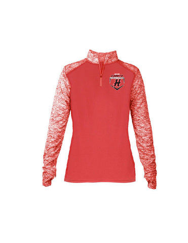 HCB4198 - Sport Blend Ladies 1/4 Zip