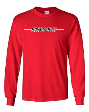HHPC54LS Port & Company® - Long Sleeve Core Cotton Tee Red