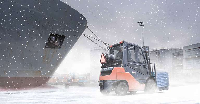 Forklift Operation in Winter Conditions Part 2