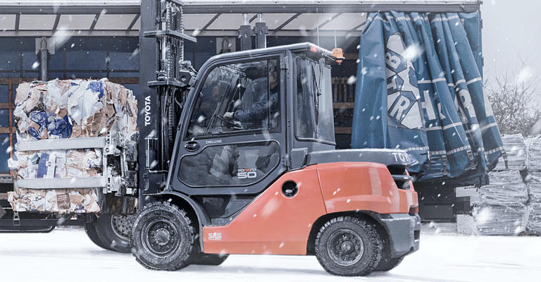 Forklift Operation During Winter Conditions: Part 1