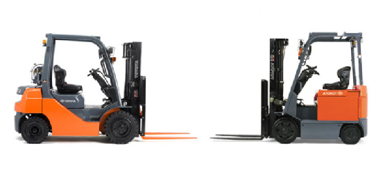 Differences between an Internal Combustion Forklift and an Electric Forklift