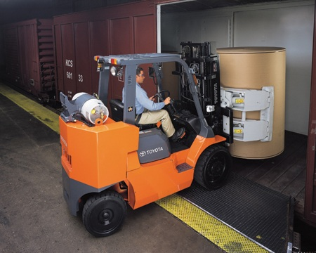 Forklift Attachments: saving you time and money!