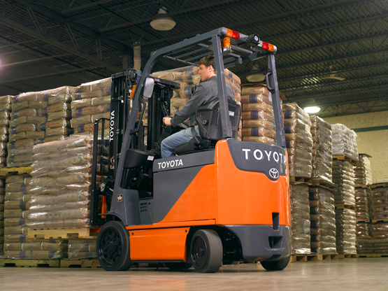 What an Electric Forklift from Toyota Can Mean for Your Business