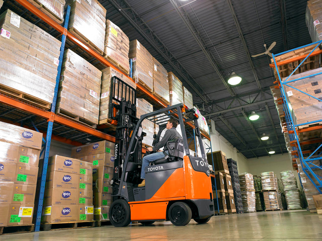 Is Your Forklift's Battery Low?