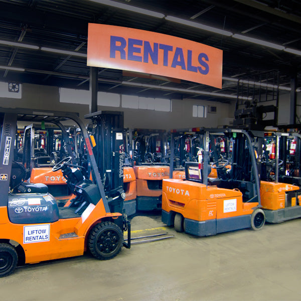 The Benefits of Lift Truck Rentals