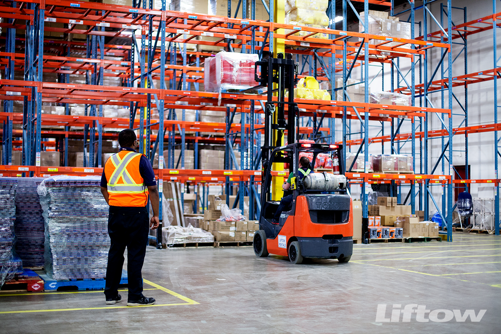 Setting Deadlines for Forklift Operators