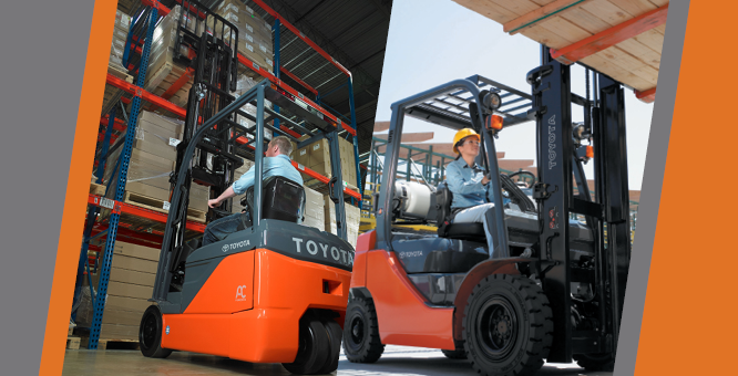 How Renting A Forklift Can Help You Handle Unexpected High Volumes