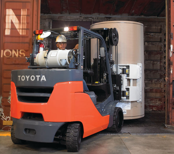 Exploring the Features of Toyota's 8-Series Internal Combustion Cushion Tire Forklift