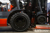 What is the Difference Between Pneumatic and Cushion Forklift Tires?