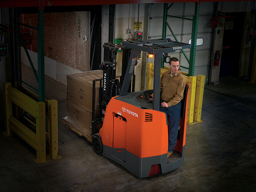 Sit-Down Versus Stand-Up Forklifts Part 2