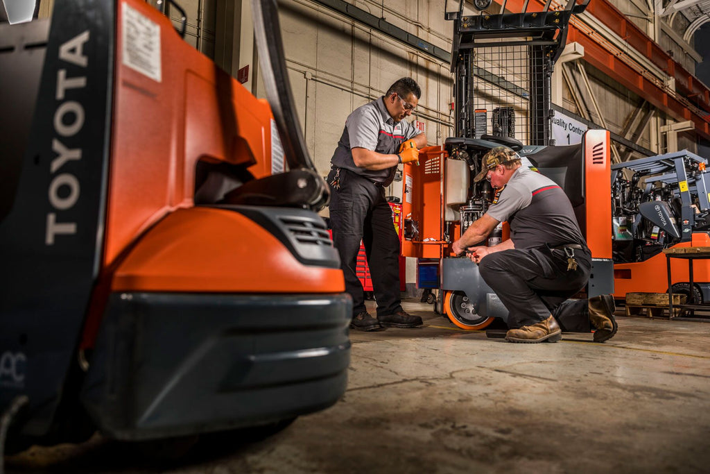 Does Your Forklift Equipment Need Servicing?
