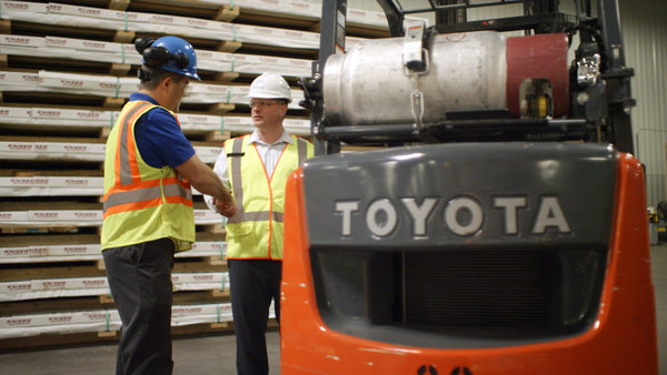 Toyota Lift Trucks on Top For Fuel Efficiency and Productivity