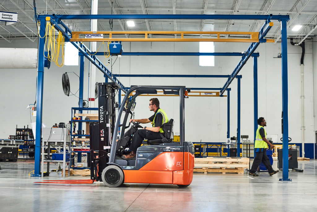 How Forklifts Work