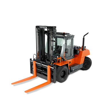 Toyota High Capacity Pneumatic Tire Forklift