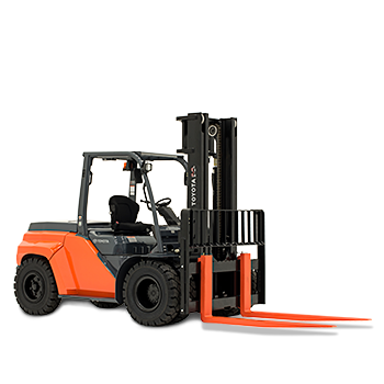 Large Capacity Pneumatic Tire Toyota Forklift