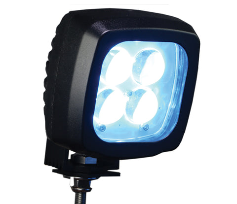 Big Blue Pedestrian Warning Spotlight - Forklift Training Safety Products