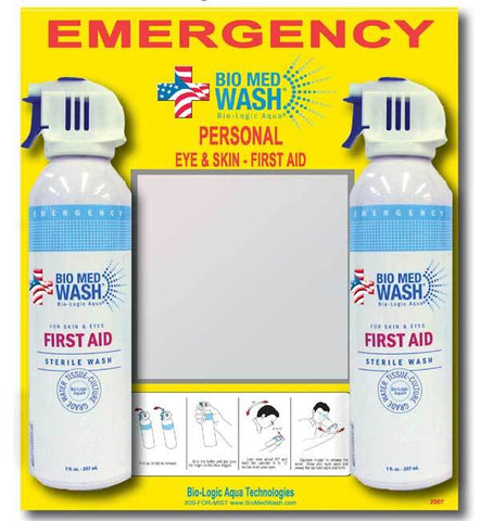 Bio Med Wash for First Aid Eyewash - Forklift Training Safety Products