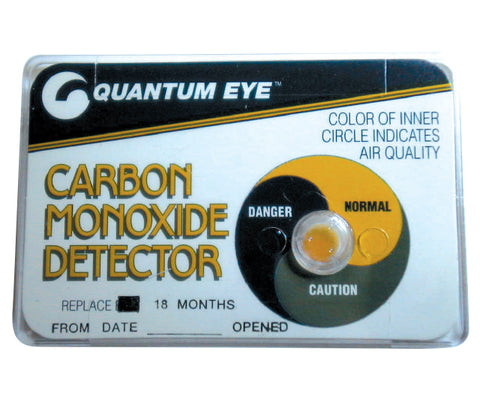Carbon Monoxide Detector Card - Forklift Training Safety Products