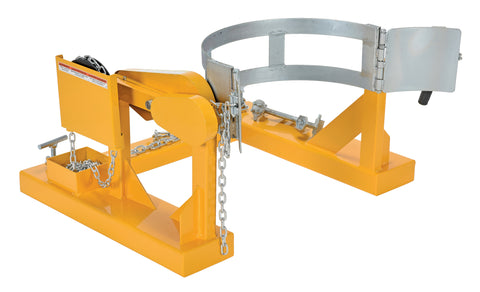 Manual Drum Carrier/Rotator - Forklift Training Safety Products