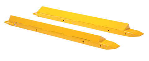 Triangular Fork Extensions - Forklift Training Safety Products