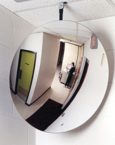 Interior Convex Mirror - Forklift Training Safety Products
