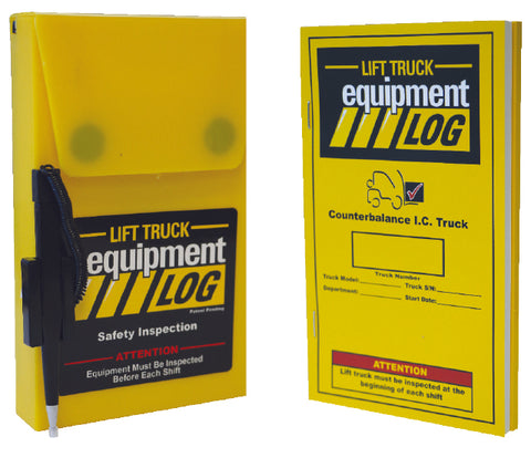 Lift Truck Log Kit - 1 Book & Case - Forklift Training Safety Products