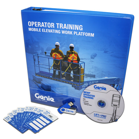 Genie® Aerial Elevated Work Platform DVD Training Kit - Forklift Training Safety Products