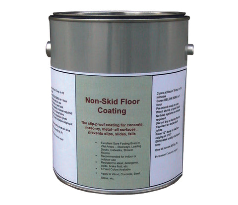 Non-Skid Floor Coating - Forklift Training Safety Products