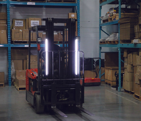 The Forklift PAL Pedestrian Awareness Light System - Forklift Training Safety Products