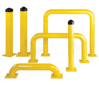 Bollard Posts and Machine Guards - Forklift Training Safety Products