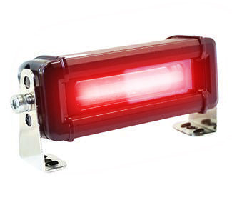 Red-Zone LED Pedestrian Warning Light - Forklift Training Safety Products